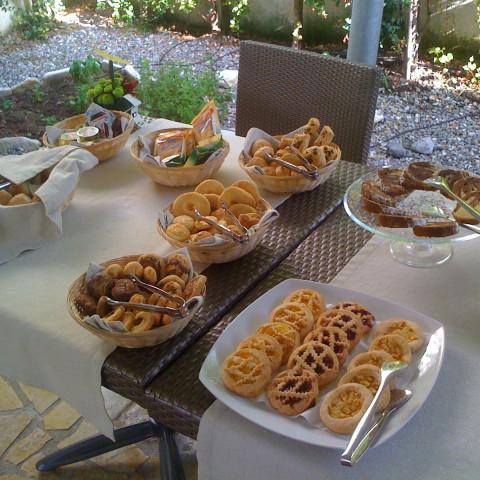 Colazione a buffet nel nostro Garden